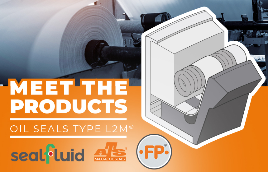 Sealfluid® hydraulic seals and kits for the Pulp&Paper industry