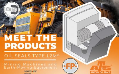 L2M® Family of seals for MiningMachines and Earth-Moving-Equipment